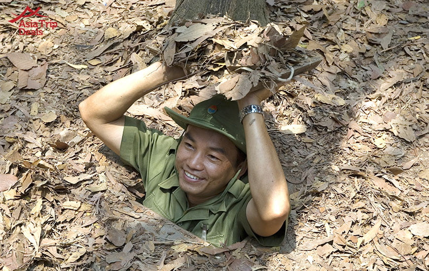 discover cu chi tunnels during the vietnam war