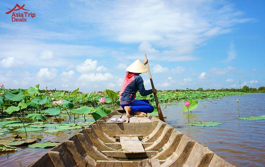 Mekong Delta provinces in Vietnam