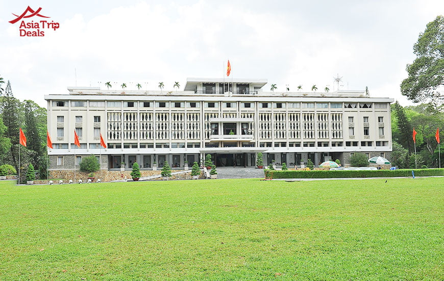 The Reunification Palace in Ho Chi Minh City, Vietnam