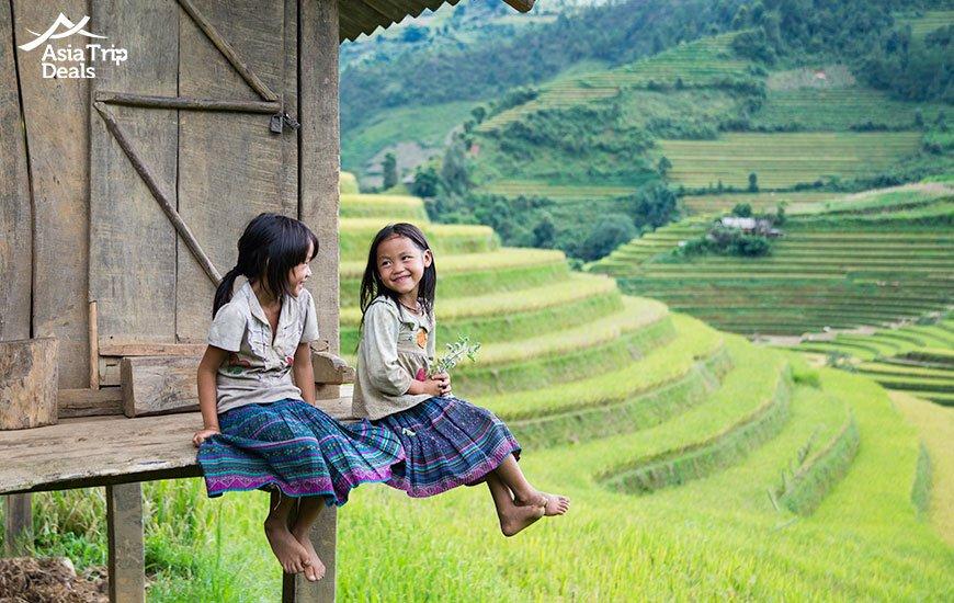 hmong ethic minority in sapa vietnam