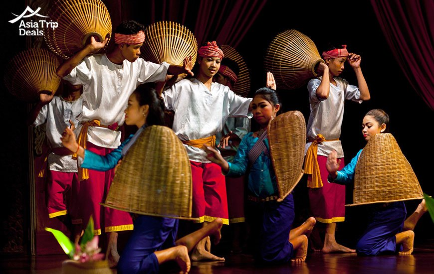Khmer folk dances in Cambodia