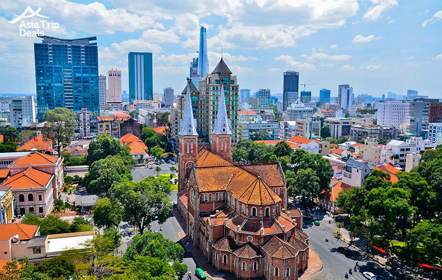 Notre-Dame Cathedral in Ho Chi Minh city