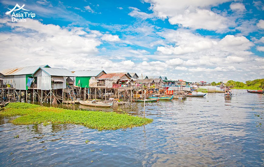 Life on Tonle Sap lake, Cambodia