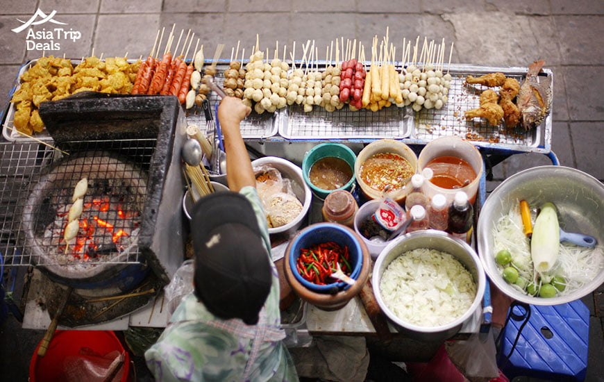 Thai is famous for its tasty street food