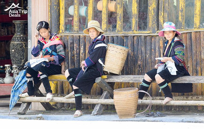 Hhmong ethinic minority in Sapa Vietnam