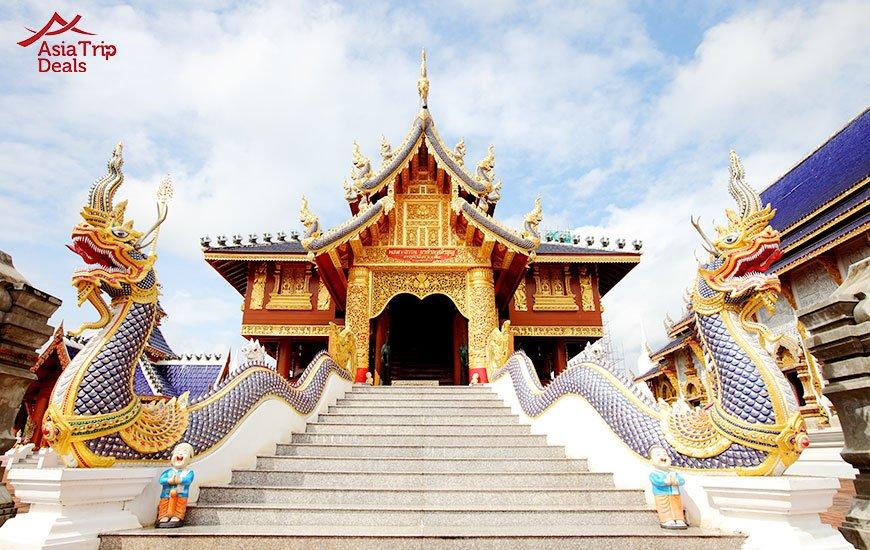 Wat Den Sa Lee Si Mueng Gan,Temples in Chiang Mai, Thailand