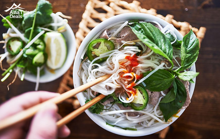 "one of the most loved vietnamese food ""pho"""
