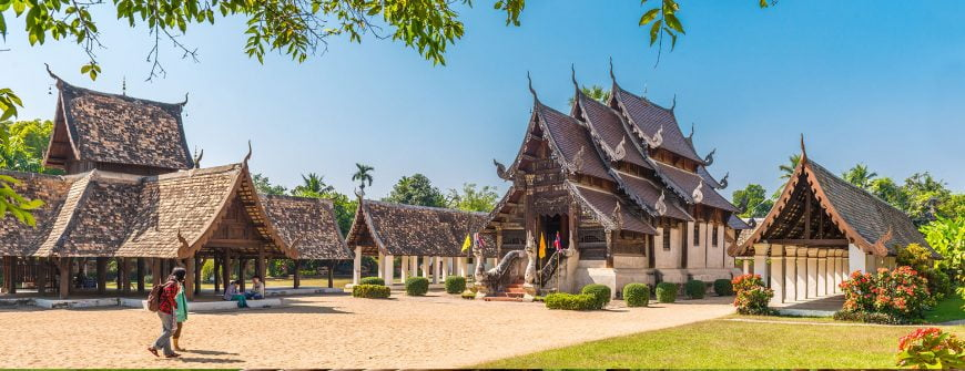 Majestic temples in Thailand