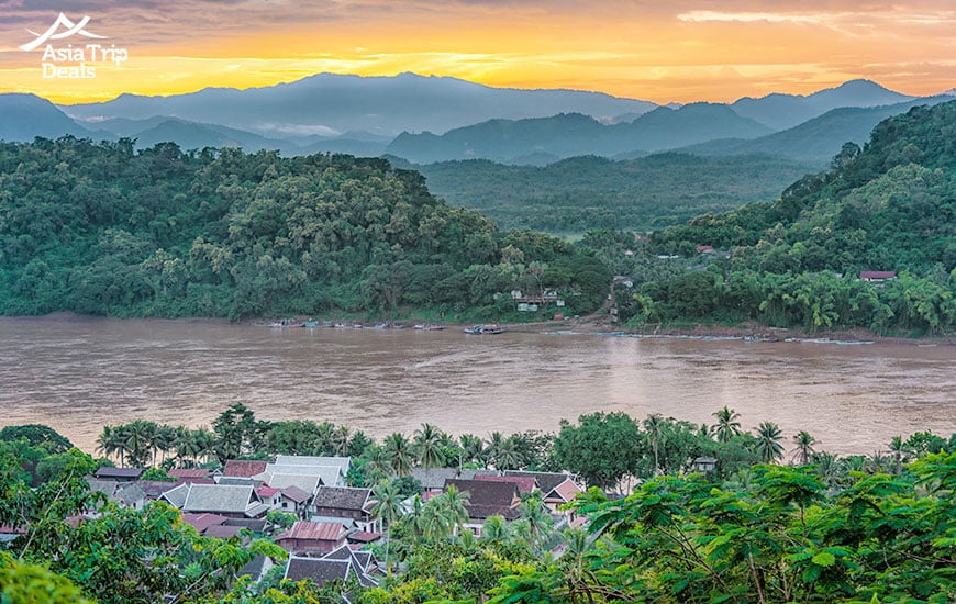 Trekking in the outskirts of Luang Prabang
