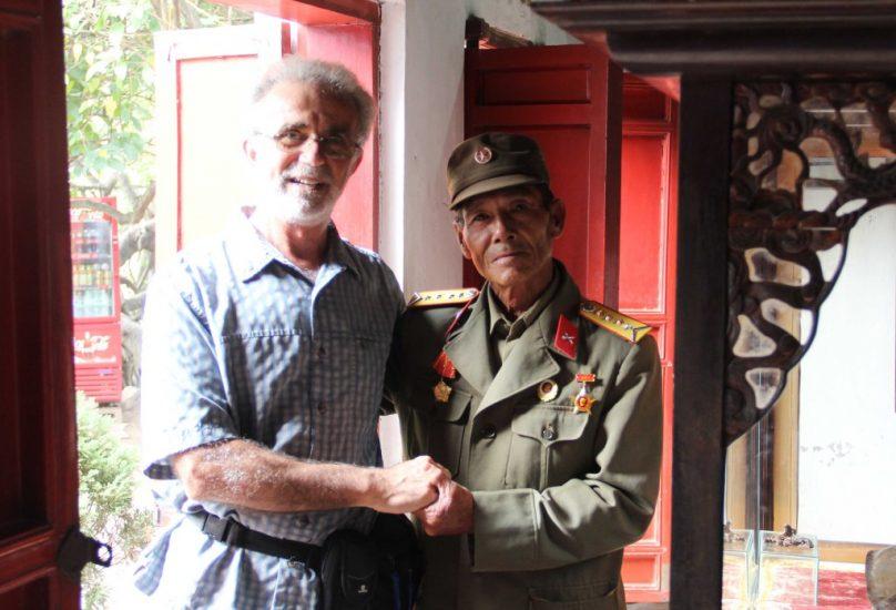 Visitng a North Vietnamese veteran