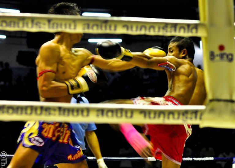 Thai traditonal material art Muay Thai