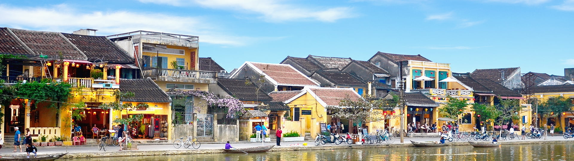 the captivating sight of the UNESCO Heritage Hoi An old town