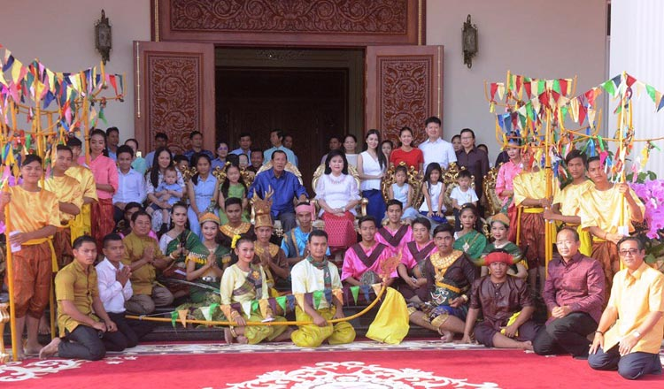 Khmer New Year in mid-April