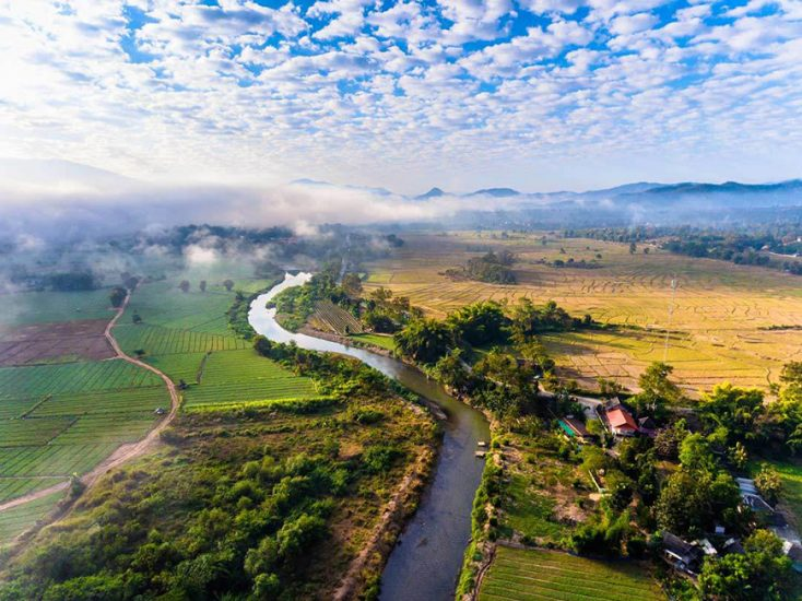 staggering view of Pai from above
