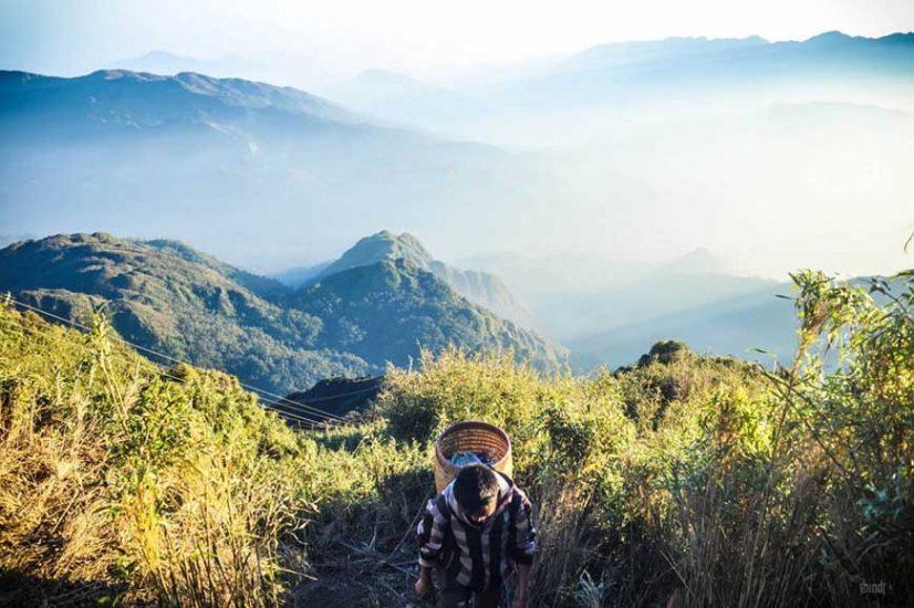 trekking fansipan in sapa lao cai