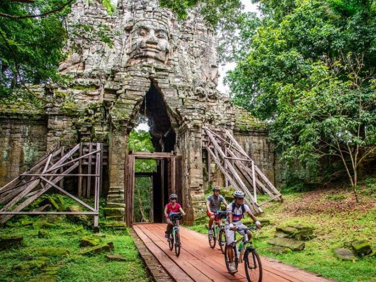 Try cycling in Cambodia for a new experience