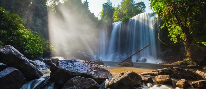 Waterfalls on The adventure seekers: Mondulkiri