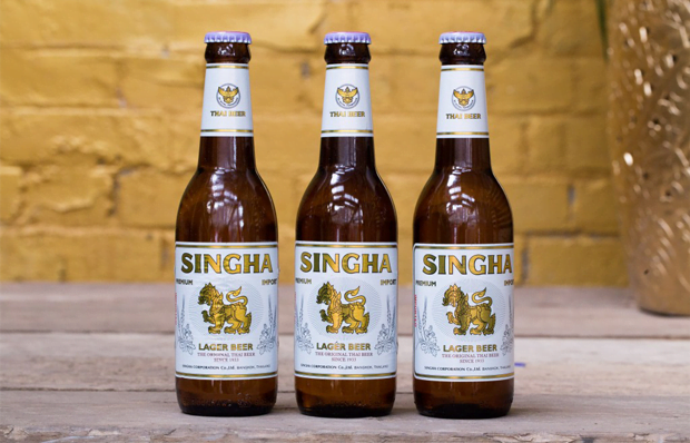 Thai Singha beer
