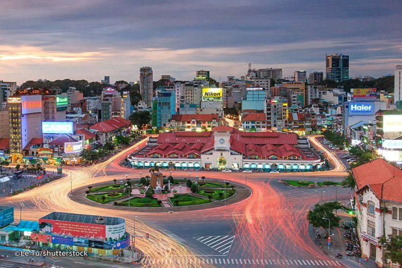 Ben Thanh Market, HCMC, Vietnam