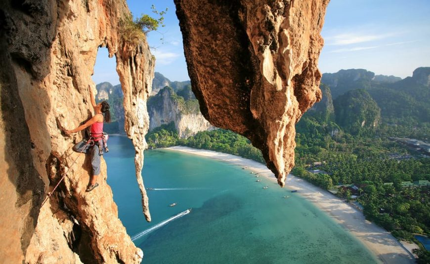 Climbing Railay